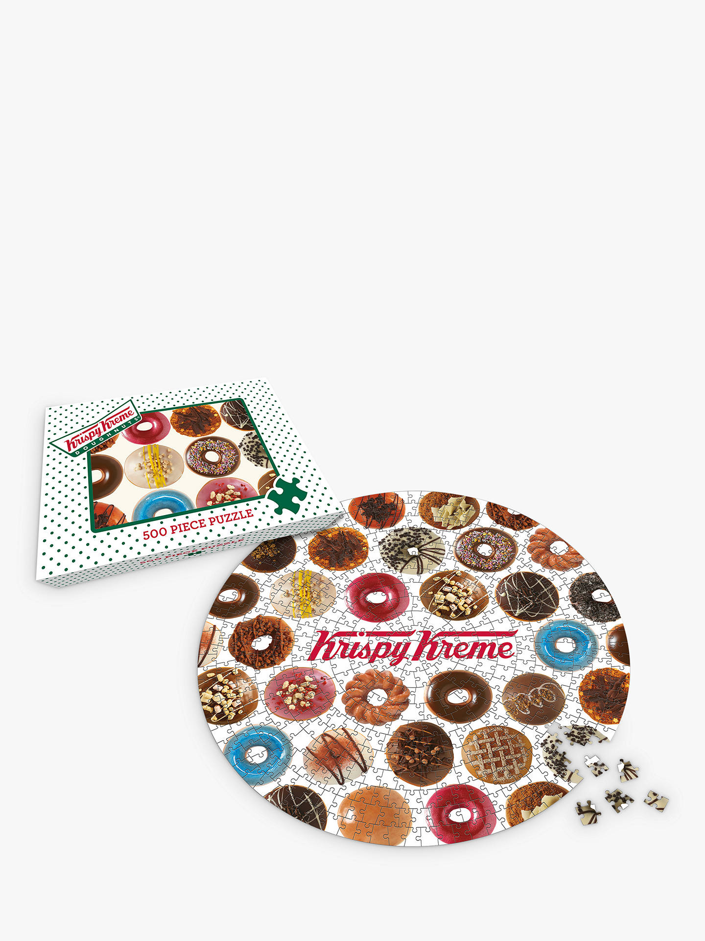 BuyGibsons Krispy Kreme Jigsaw Puzzle, 500 Pieces Online at johnlewis.com