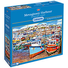 Buy Gibsons Mevagissy Harbour Jigsaw Puzzle, 1000 Piece Online at johnlewis.com