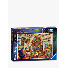 Buy Ravensburger Fantasy Bookshop Jigsaw Puzzle, 1000 pieces Online at johnlewis.com