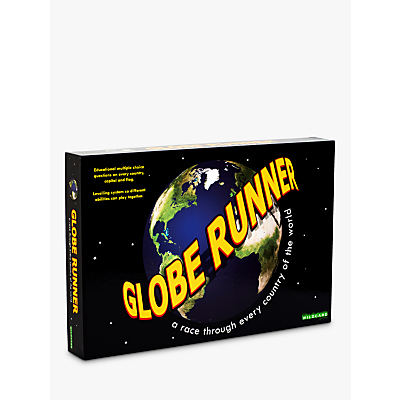 Image of GLOBE RUNNER - A race through every country of the world game