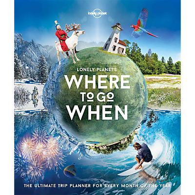Lonely Planet Where To Go When Book