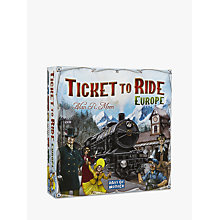 Buy Ticket To Ride Europe Game Online at johnlewis.com