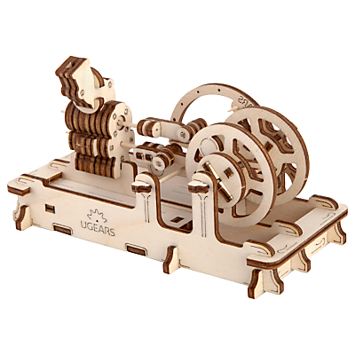 Image of UGears Mechanical Model Engine Wood Puzzle