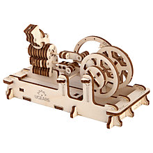Buy UGears Mechanical Model Engine Wood Puzzle Online at johnlewis.com