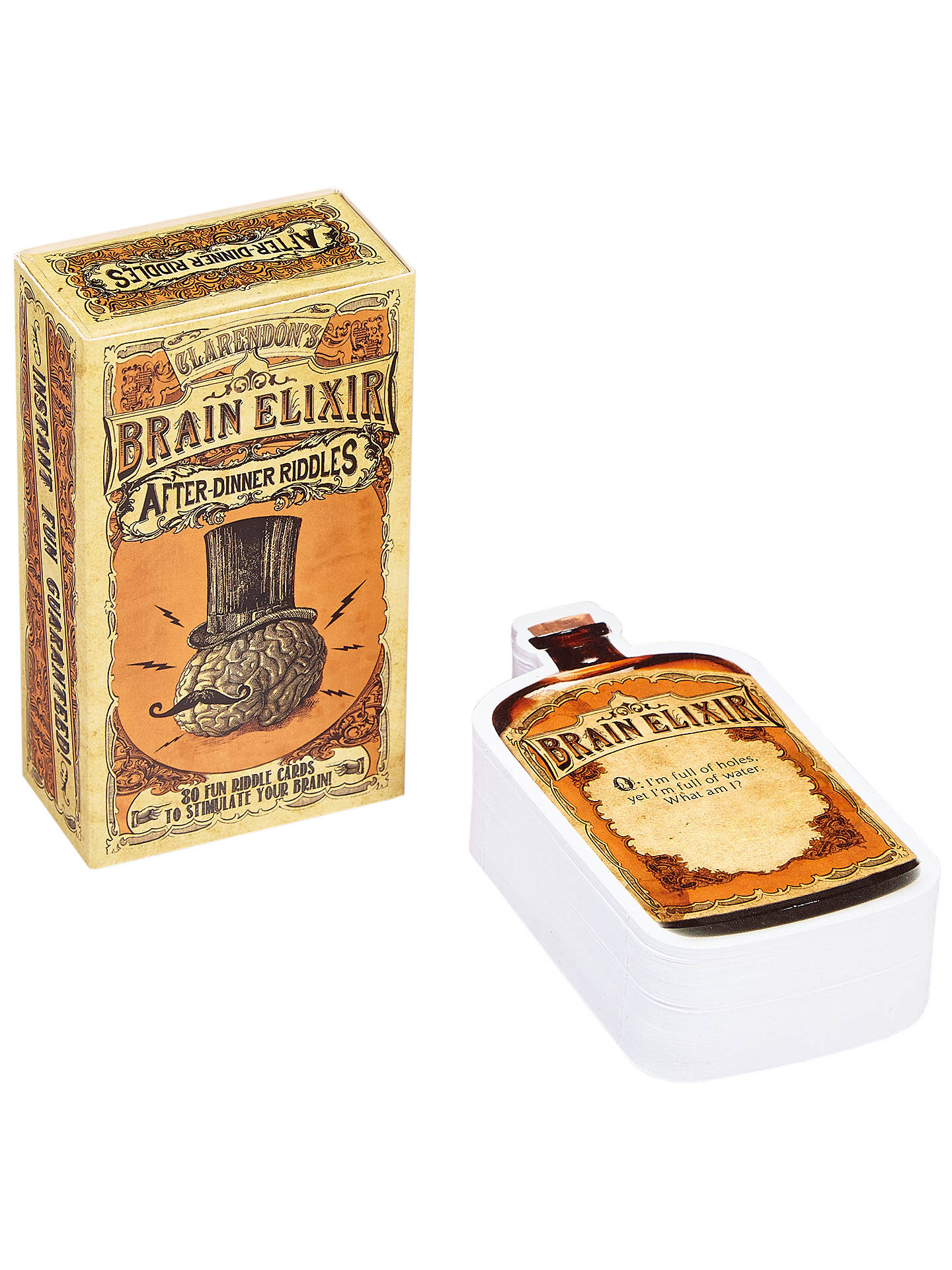 Buy Clarendon Games Brain Elixir After Dinner Riddles Game Online at johnlewis.com