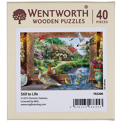 Image of Wentworth Wooden Puzzles Still to Life Jigsaw