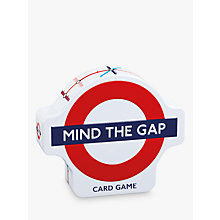 Buy Gibsons Mind The Gap Card Game Online at johnlewis.com