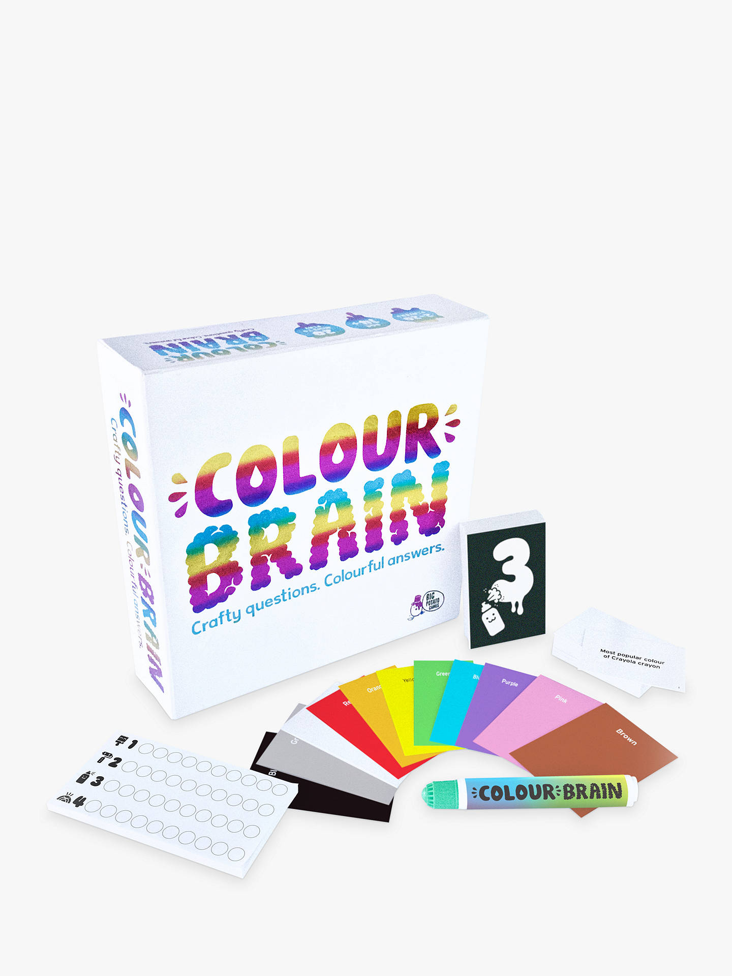 BuyBig Potato Colour Brain Game Online at johnlewis.com