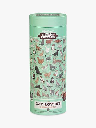 Buy Ridleys Cat Lovers Jigsaw Puzzle, 1000 pieces Online at johnlewis.com