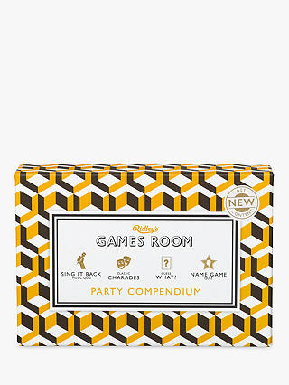 Buy Ridleys Games Room Party Compendium Online at johnlewis.com