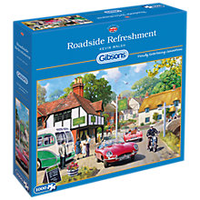 Buy Gibsons Roadside Refreshment Jigsaw Puzzle, 1000 Piece Online at johnlewis.com