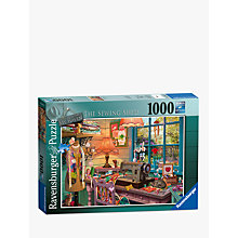 Buy Ravensburger The Sewing Shed Jigsaw Puzzle, 1000 Pieces Online at johnlewis.com