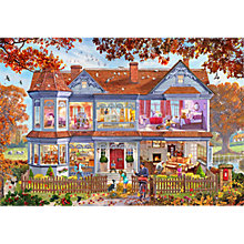 Buy Gibsons Autumn House Jigsaw Puzzle, 1000 Piece Online at johnlewis.com