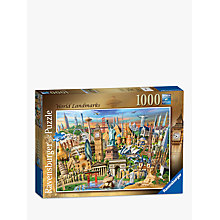 Buy Ravensburger World Landmarks Jigsaw Puzzle, 1000 pieces Online at johnlewis.com