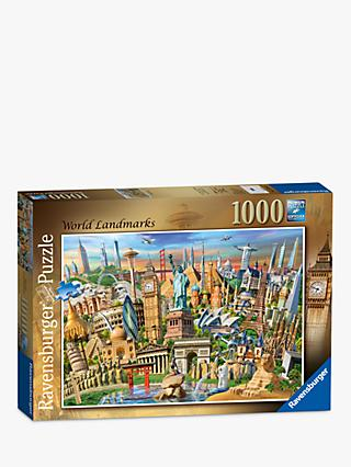 Ravensburger World Landmarks Jigsaw Puzzle, 1000 Pieces