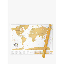 Buy Luckies Scratch Map XL Edition Online at johnlewis.com