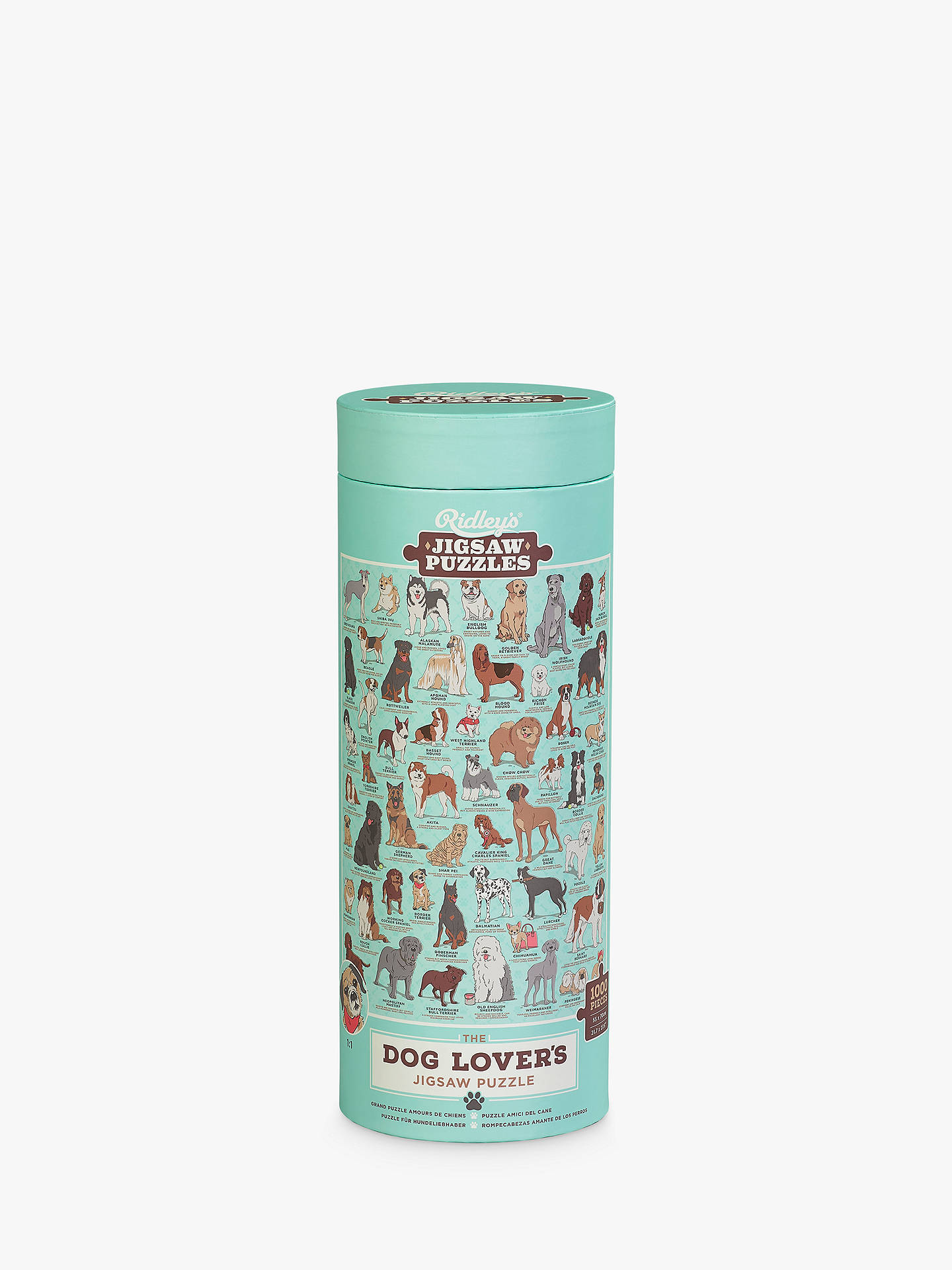 Ridley\'s Dog Lovers Jigsaw Puzzle, 1000 Pieces at John Lewis & Partners