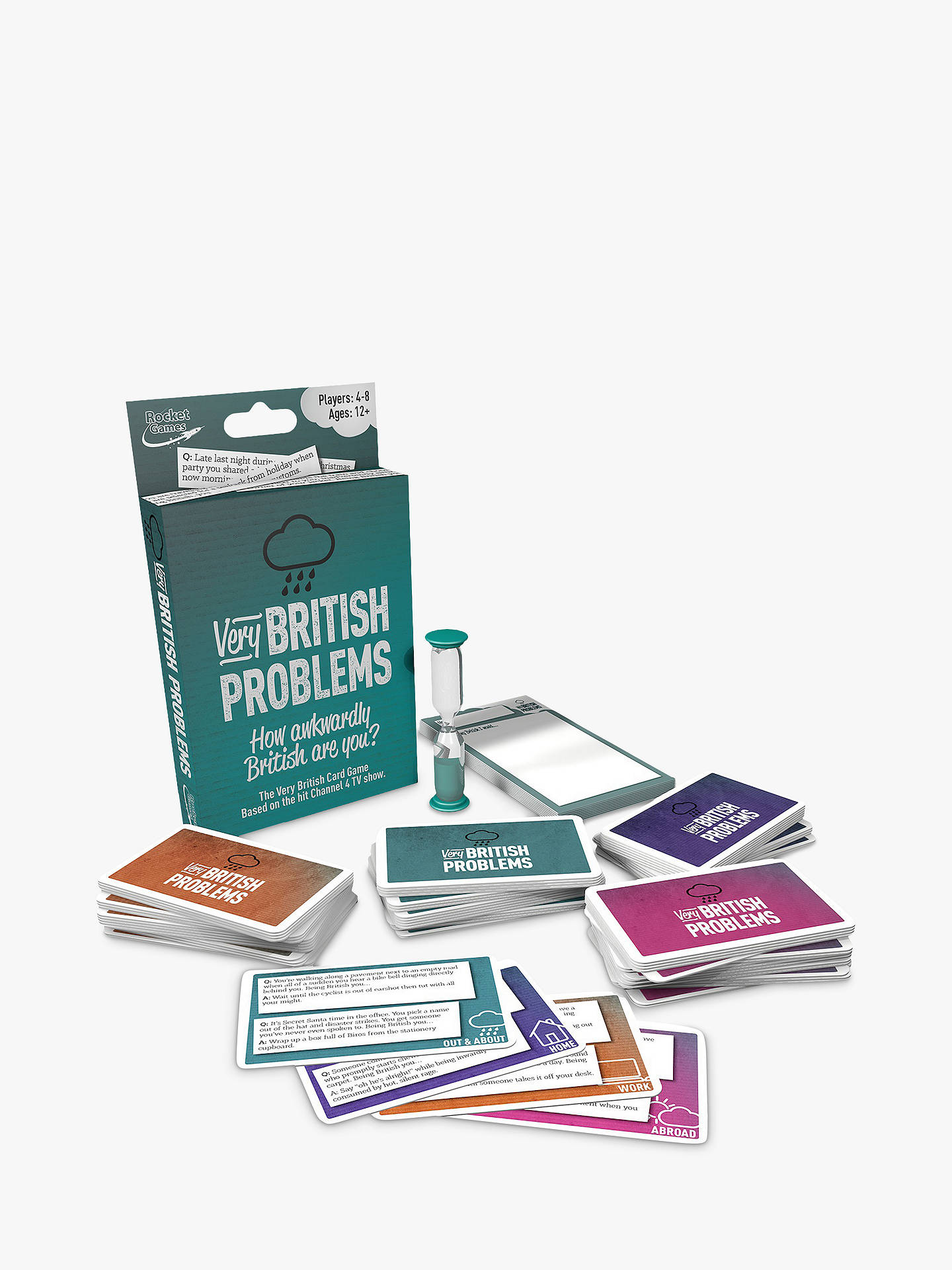 Buy Very British Problems Card Game Online at johnlewis.com