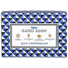 Buy Ridley's Quiz Compendium Online at johnlewis.com