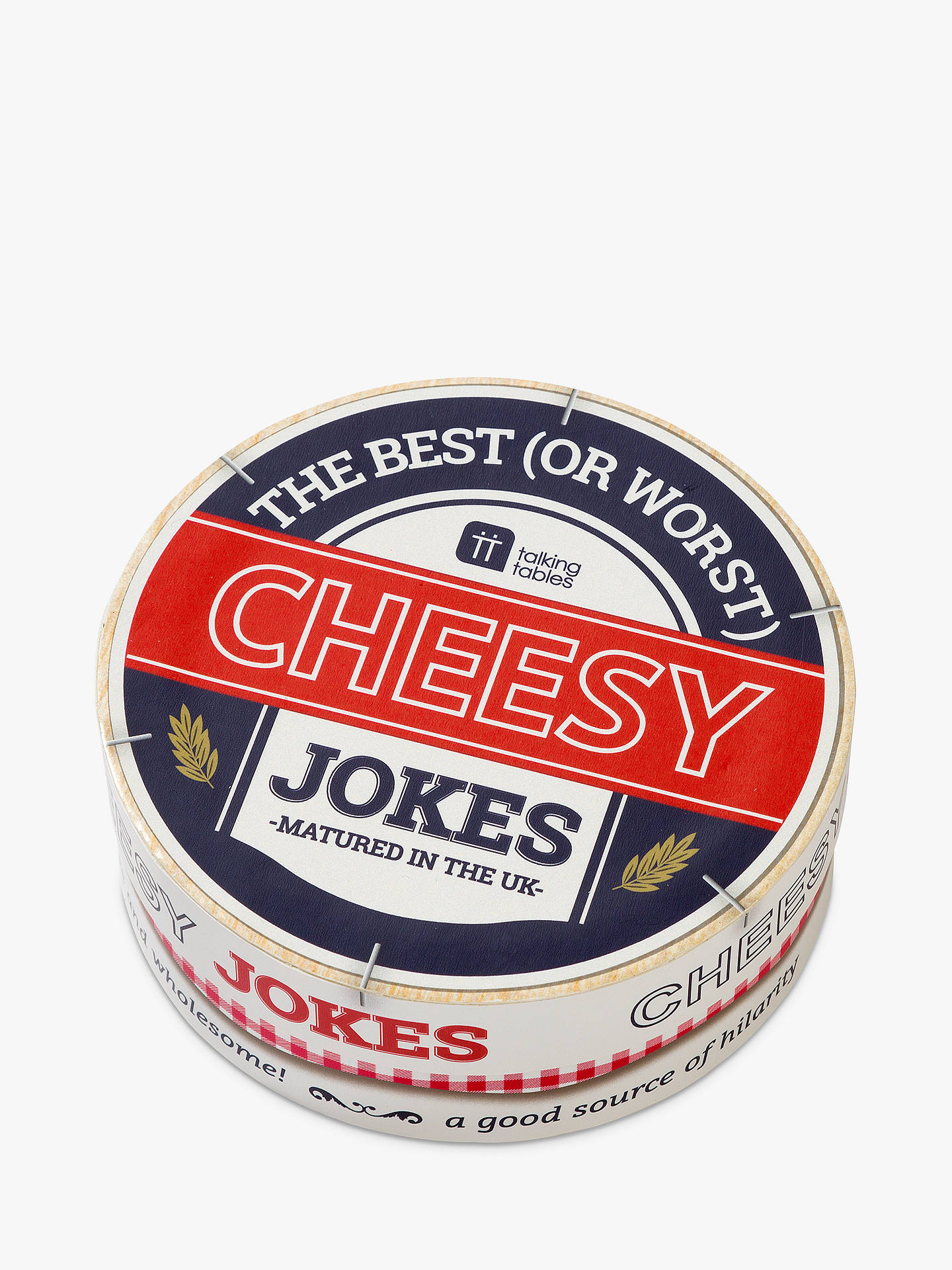 Buy Talking Tables Cheesy Jokes Online at johnlewis.com