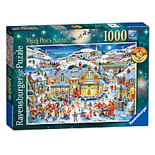 Buy Ravensburger Which Ones Santa? Jigsaw Puzzle, 1000 pieces Online at johnlewis.com