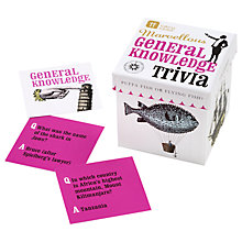 Buy Talking Tables General Knowledge Mini Cube Quiz Online at johnlewis.com