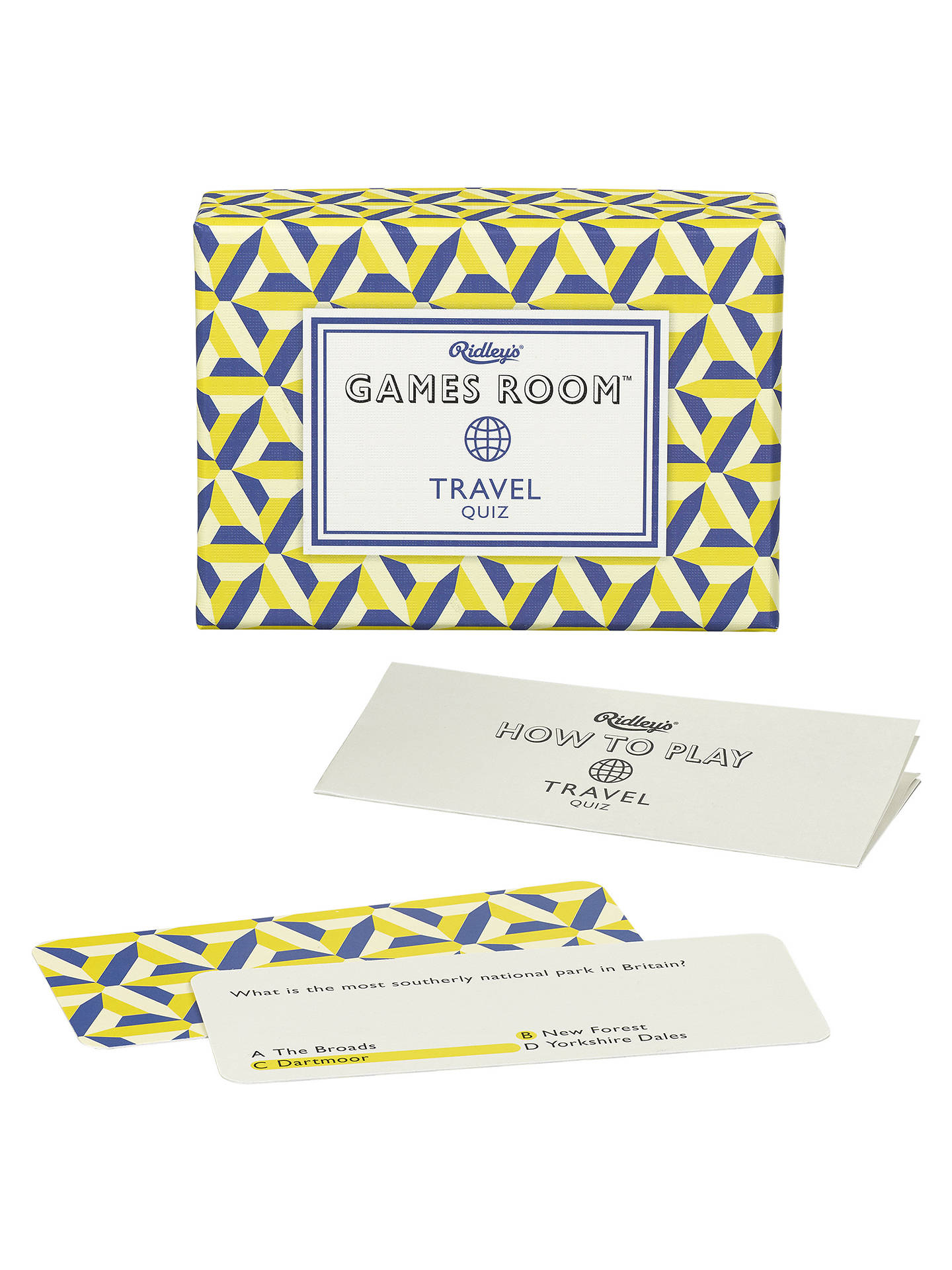 Buy Ridleys Travel Quiz Online at johnlewis.com