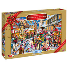 Buy Gibsons Wrapped Up for Christmas 2017 Limited Edition Jigsaw Puzzle, 1000 pieces Online at johnlewis.com