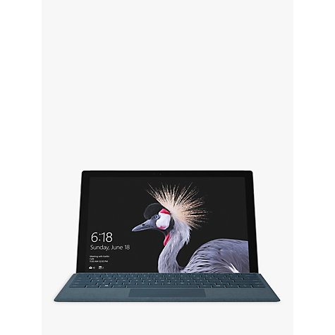 "Buy Microsoft Surface Pro Tablet, Intel Core i7, 8GB RAM, 256GB SSD, 12.3"" Touchscreen Online at johnlewis.com"
