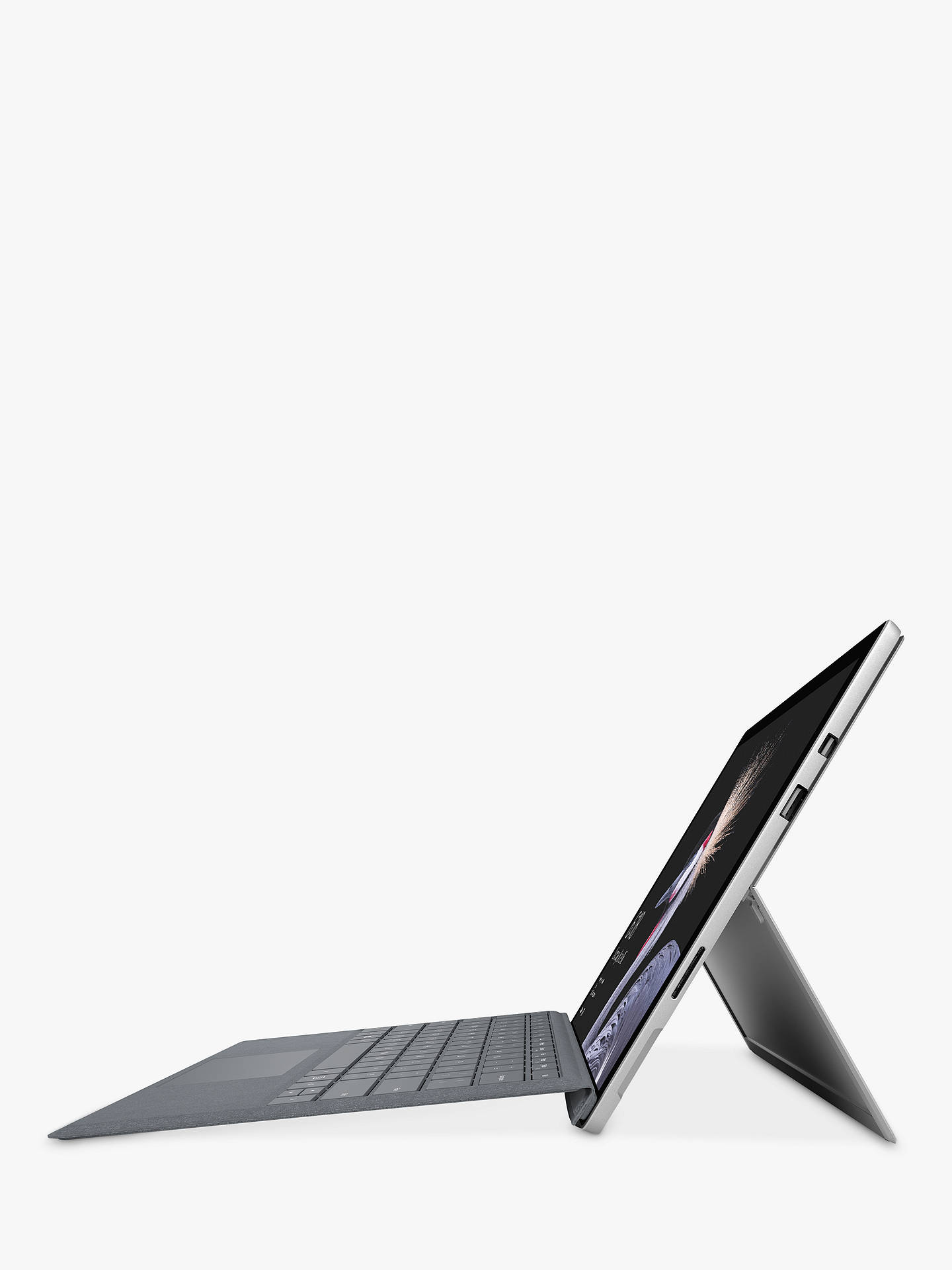 "BuyMicrosoft Surface Pro Tablet, Intel Core i7, 8GB RAM, 256GB SSD, 12.3"" Touchscreen Online at johnlewis.com"
