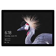 "Buy Microsoft Surface Pro Tablet, Intel Core i5, 4GB RAM, 128GB SSD, 12.3"" Touchscreen Online at johnlewis.com"