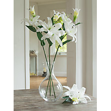 Buy Peony Artificial Casablanca Lilies, White Online at johnlewis.com