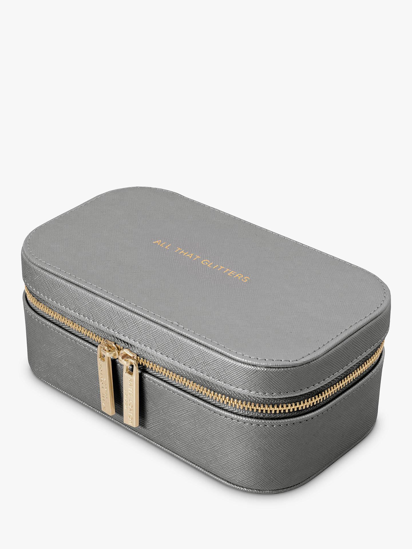 Katie Loxton Jewellery Box All That Glitters Grey At John Lewis