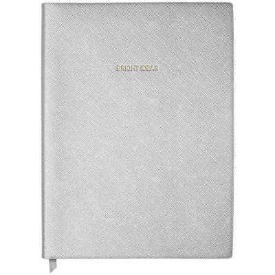 Product photo of Katie loxton bright ideas notebook silver