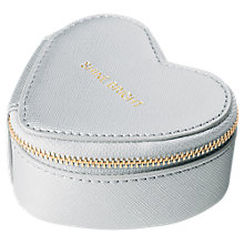 Buy Katie Loxton Travel Jewellery Case Shine Bright, Silver Online at johnlewis.com