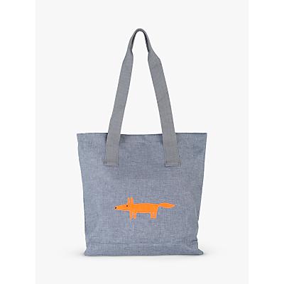 Scion Mr Fox Tote Bag, Grey