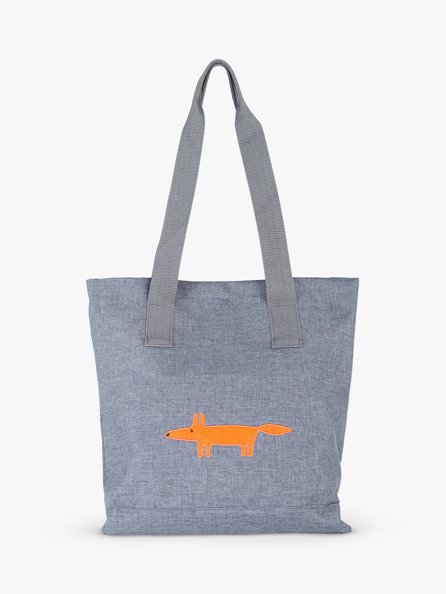 Buy Scion Mr Fox Tote Bag, Grey Online at johnlewis.com