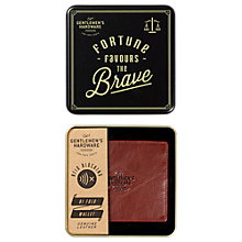Buy Gentlemen's Hardware Bi Fold Leather Wallet Online at johnlewis.com