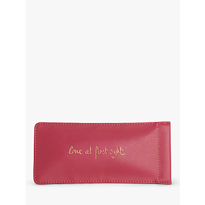 Katie Loxton Love At First Sight Glasses Case, Pink