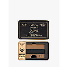 Buy Gentlemen's Hardware Metal Card Holder Online at johnlewis.com
