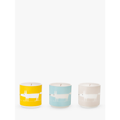 Scion Mr Fox Travel Candles, Set of 3