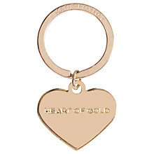 Buy Katie Loxton Heart Of Gold Keyring Online at johnlewis.com