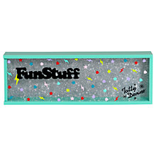 Buy Tatty Devine Fun Stuff Stationery Case, Aqua Online at johnlewis.com