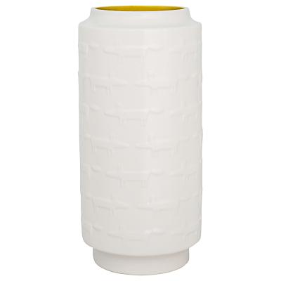 Scion Mr Fox Extra Large Vase, Marigold Orange