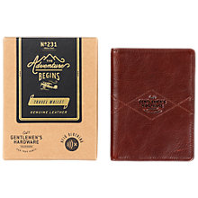 Buy Gentlemen's Hardware Leather Travel Wallet Online at johnlewis.com
