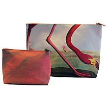 Buy Magpie Flamingo Make Up Bags, Set of 2 Online at johnlewis.com