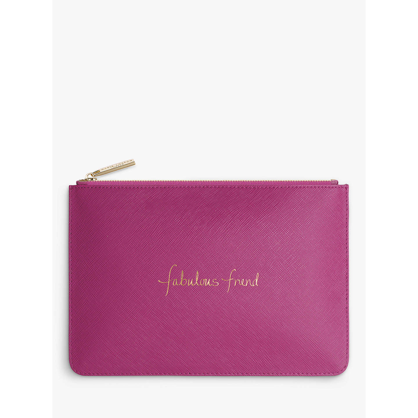 BuyKatie Loxton Pouch, Purple Online at johnlewis.com