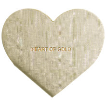 Buy Katie Loxton Heart Of Gold Shaped Notebook Online at johnlewis.com