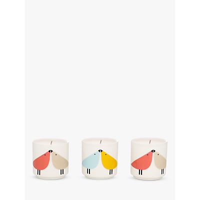 Scion Bird Travel Candles, Set of 3