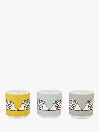 Scion Spike Travel Scented Candles, Set of 3